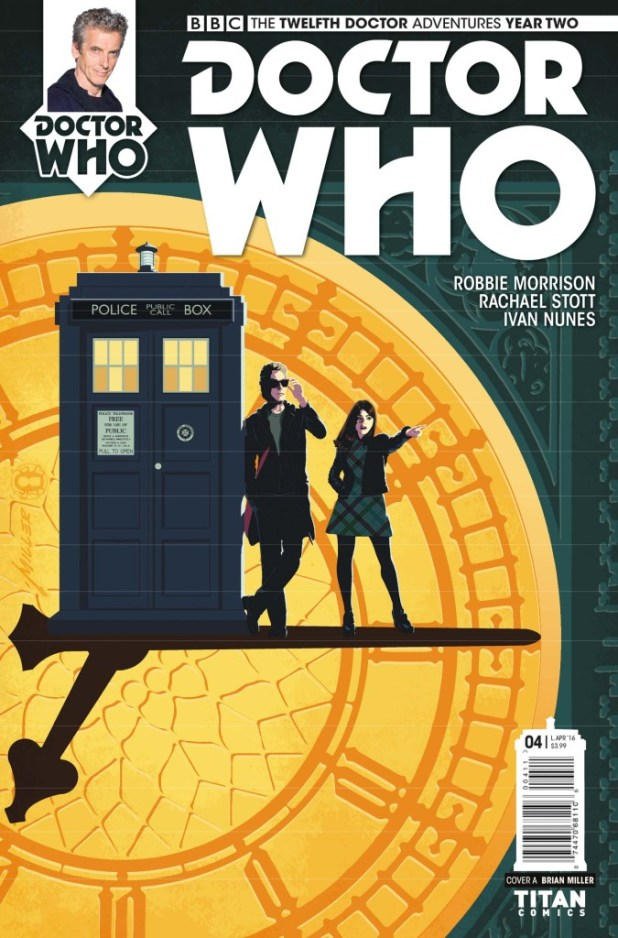 Doctor Who: The Twelfth Doctor Year Two #8 - Cover A