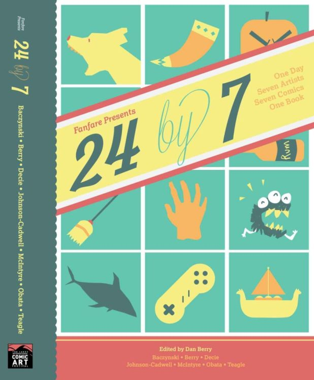 24 By 7 Cover and Spine