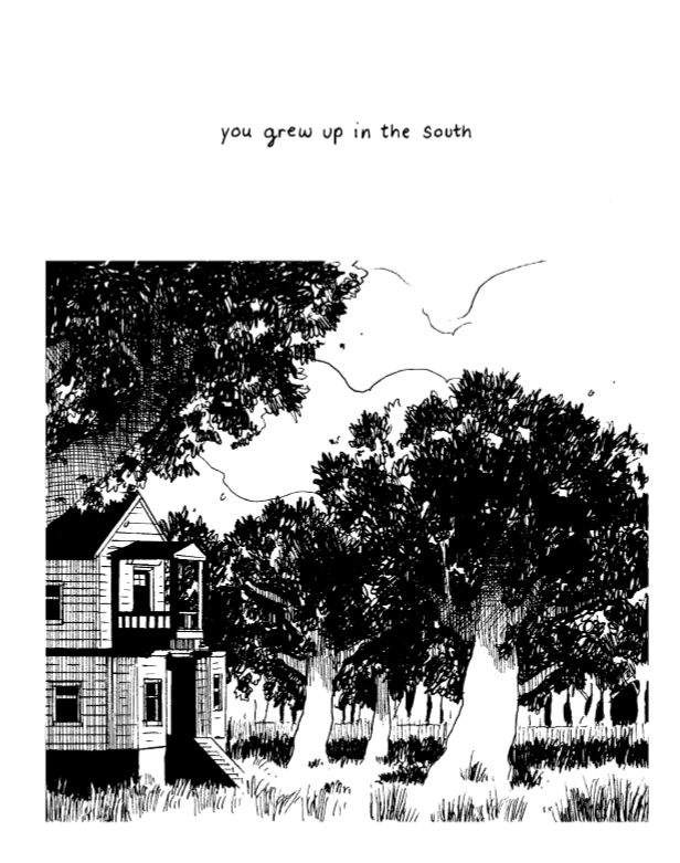 A rt from A City Inside by Tillie Walden