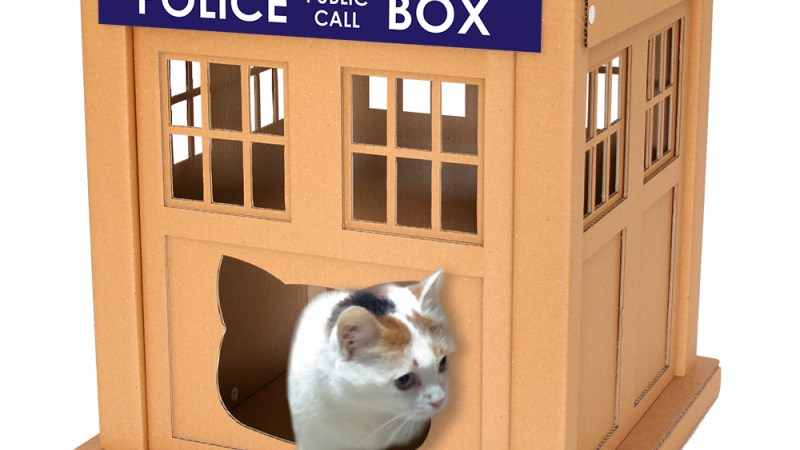 Cats Go Geek with CacaoFurniture's Cat Houses
