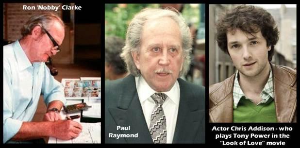 Nobby Clarke, Paul Raymond & Chris Addison