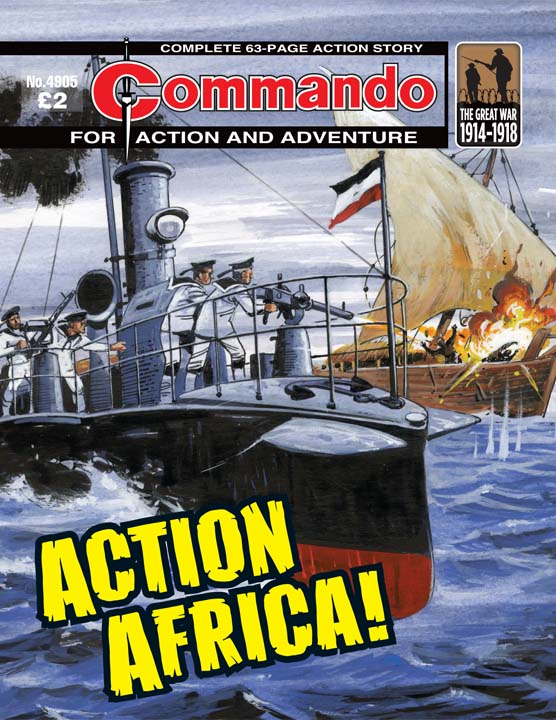 Commando No 4905 – Action Africa!