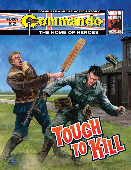 Commando No 4707 – Tough To Kill