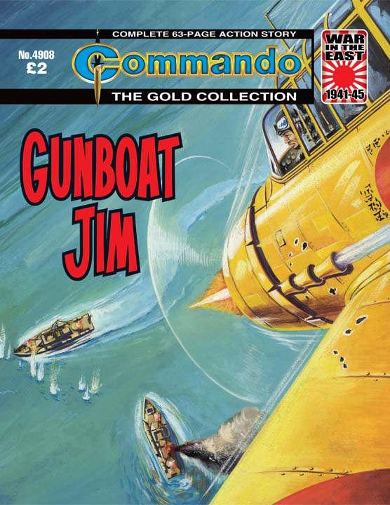 Commando No 4908 – Gunboat Jim