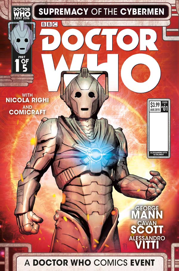 Doctor Who Event 2016: Supremacy of the Cybermen #1 Cover C by Fabio Listrani