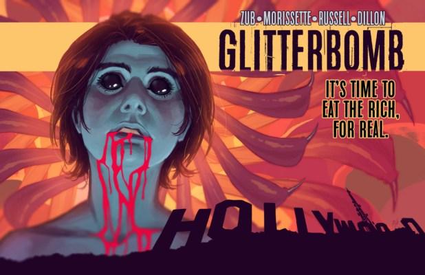 GLITTERBOMB by Jim Zub & Djibril Morissette-Phan & K. Michael Russell & Marshall Dillon