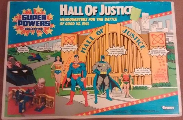 Superpowers Collection: Hall Of Justice Box Cover
