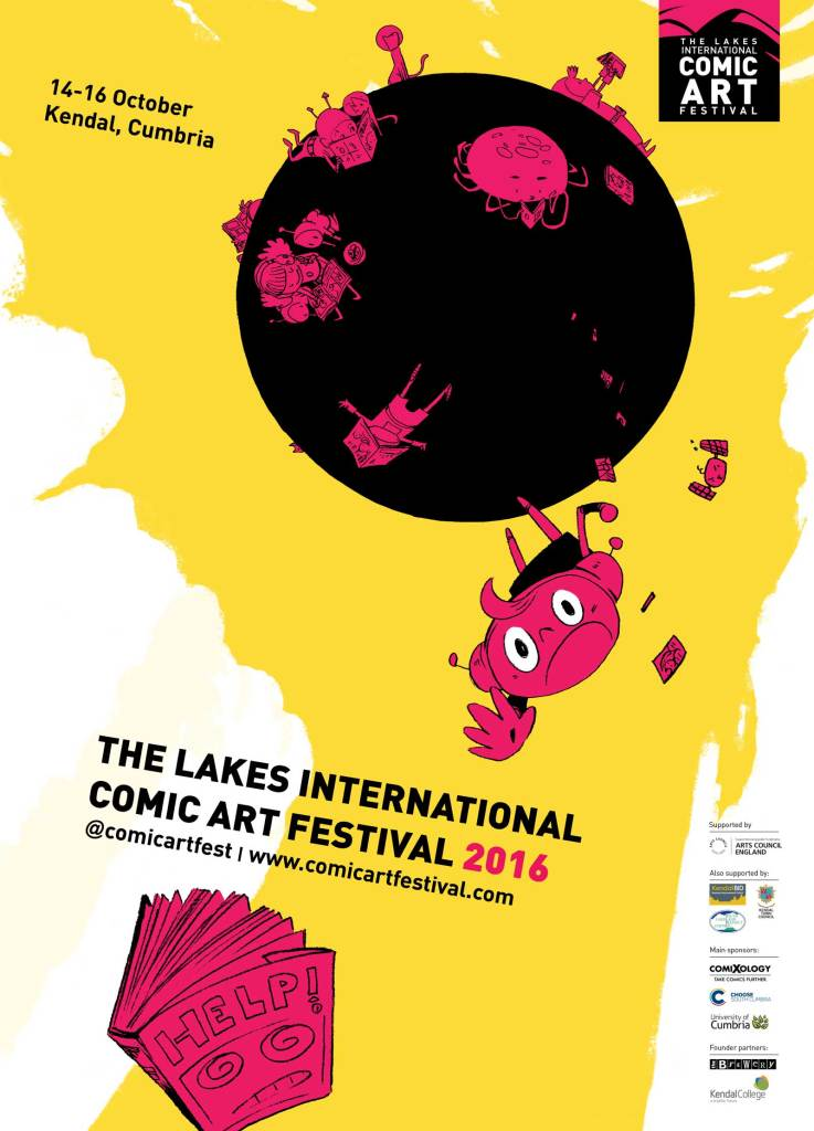 Lakes International Comic Art Festival Art 2016 by Ken Niimura