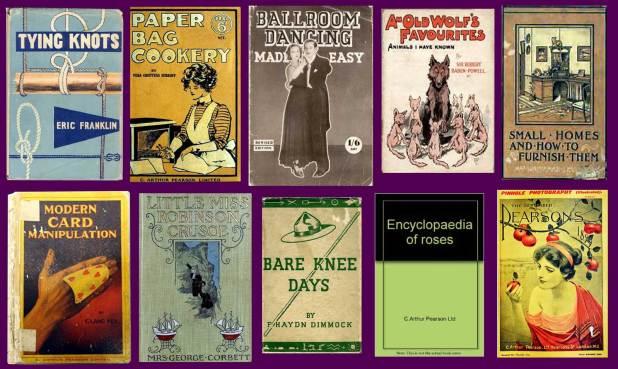 A selection of Arthur Pearson's publications