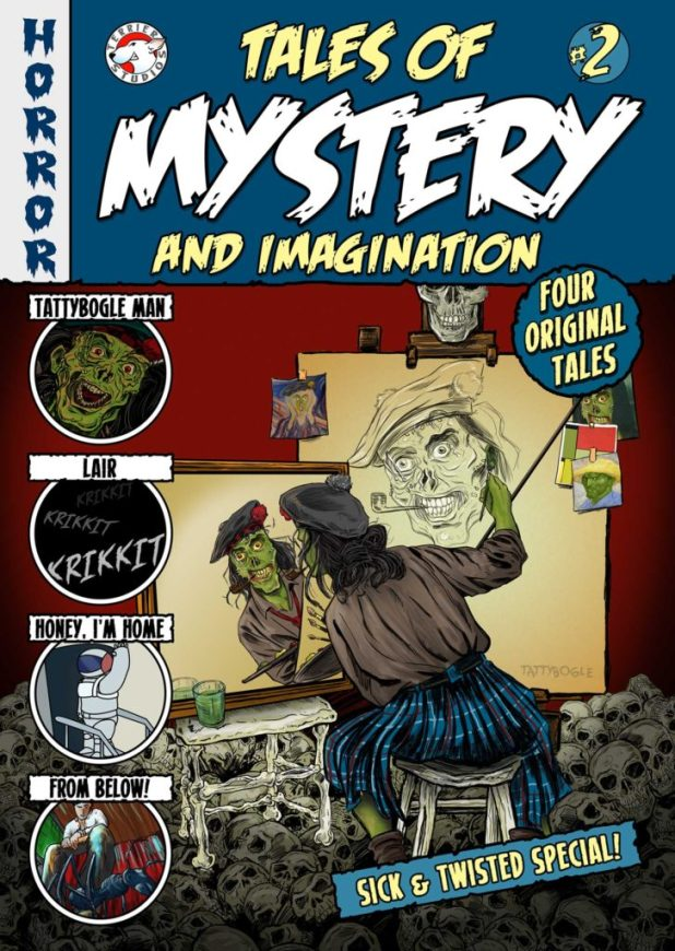 Tales of Mystery and Imagination #2 - Cover