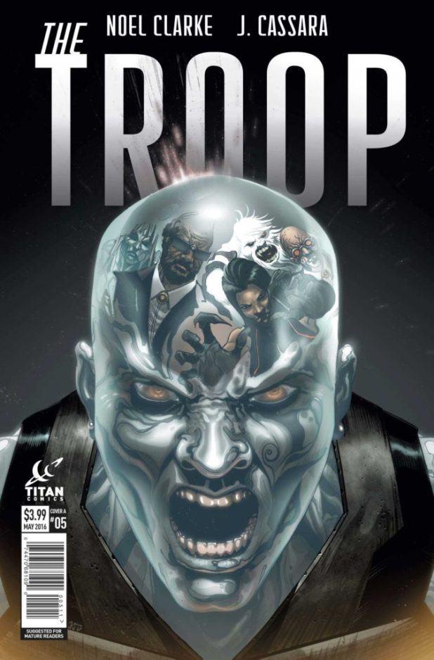 The Troop #5 Cover A