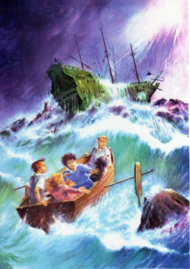 Art for Egmont's Enid Blyton Mystery and Suspense Magazine