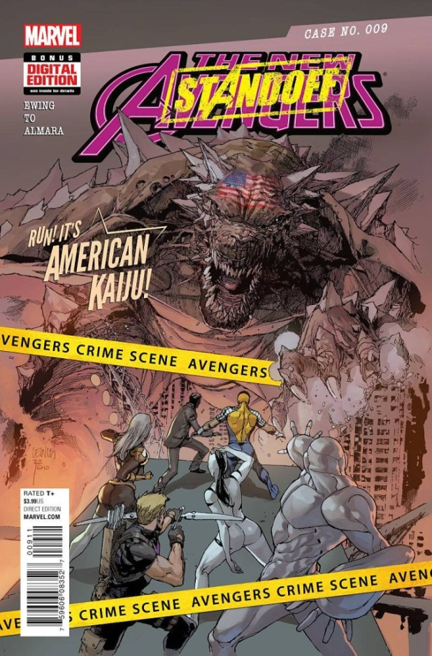 New Avengers #9 – StandOff Tie-In