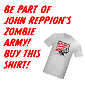 Be Part of John Reppion's Zombie Army - Ad