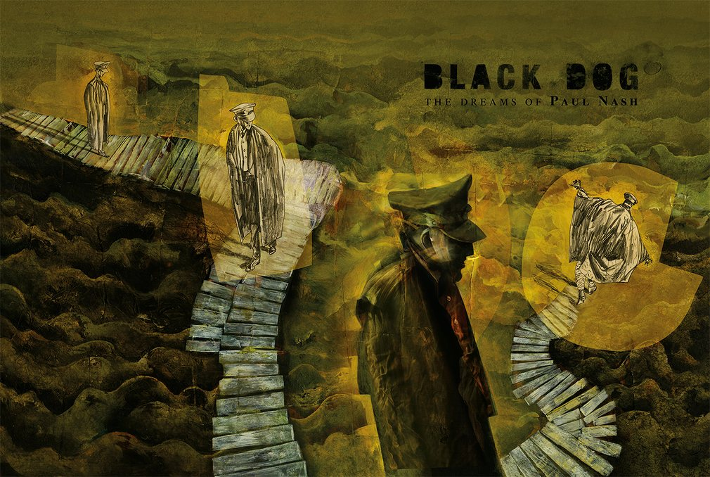 "Dave McKean's ""Black Dog"" Premieres, Show heads for France ..."