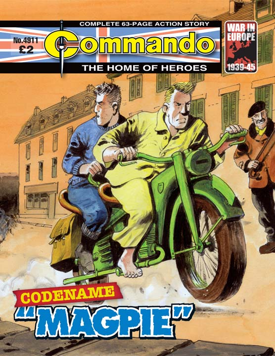 "Commando 4911 – Codename ""Magpie"""