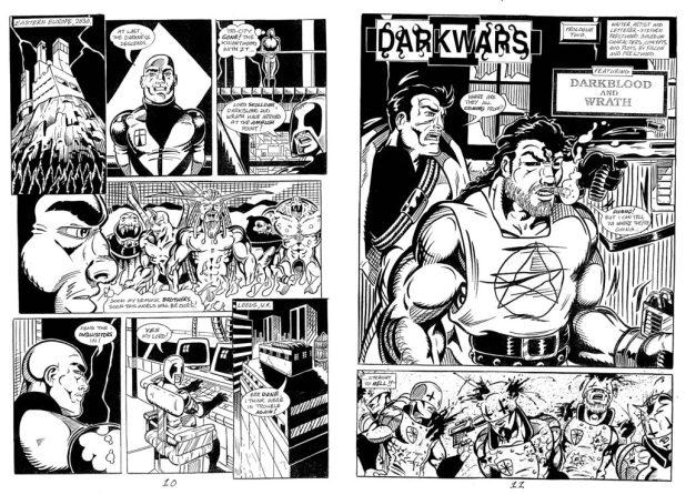 Dark Wars from Otherside/Flipside entirely by Stephen - Courtesy of Nigel Lowrey