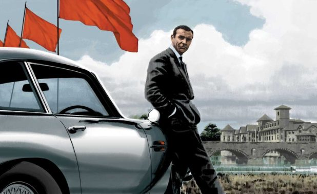James Bond visits Kendal, thanks to Darwyn Cooke