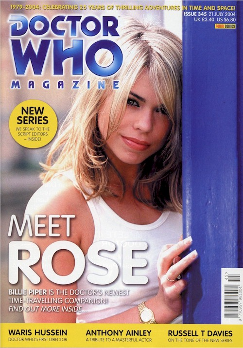 Doctor Who Magazine Issue 345