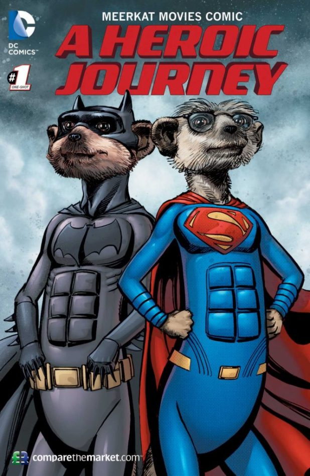 Meerkat Movies Comic - A Heroic Journey #1 - Cover