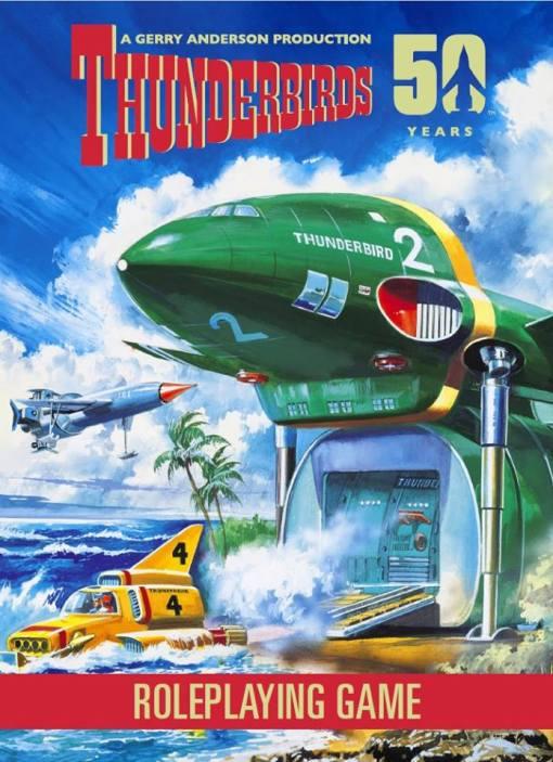 Modiphius Thunderbirds Co-Operative Board Game