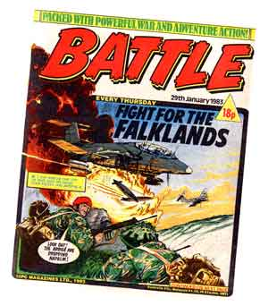 Battle: FIght for the Falklands Cover