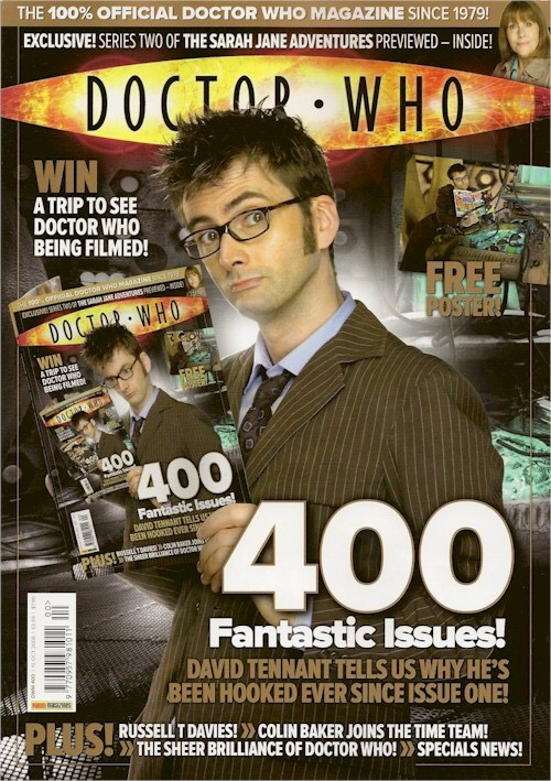Doctor Who Magazine Issue 400