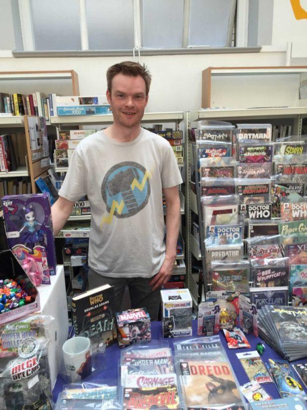 Mark Braithwaite of First Age Comics