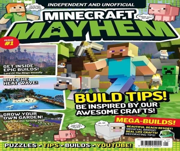 Minecraft Mayhem Issue One