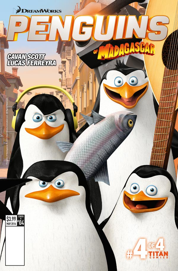 Penguins of Madagascar Volume 2 #4