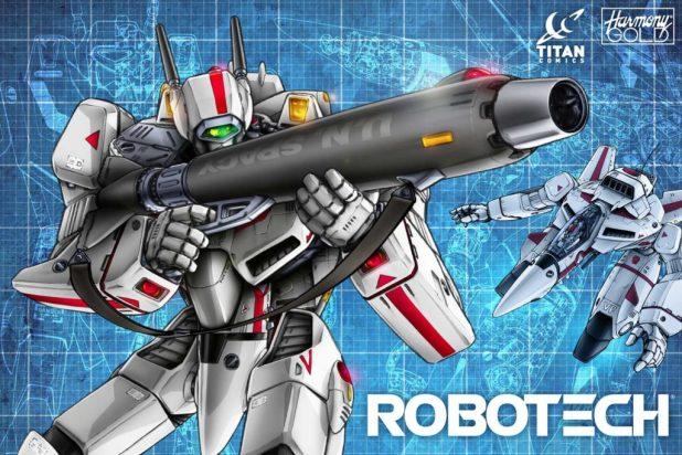 Robotech and Titan Comics Promo