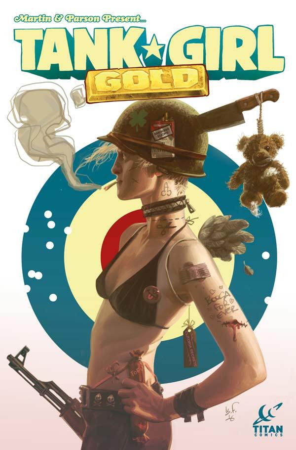 Tank Girl: Gold #1 - Cover B