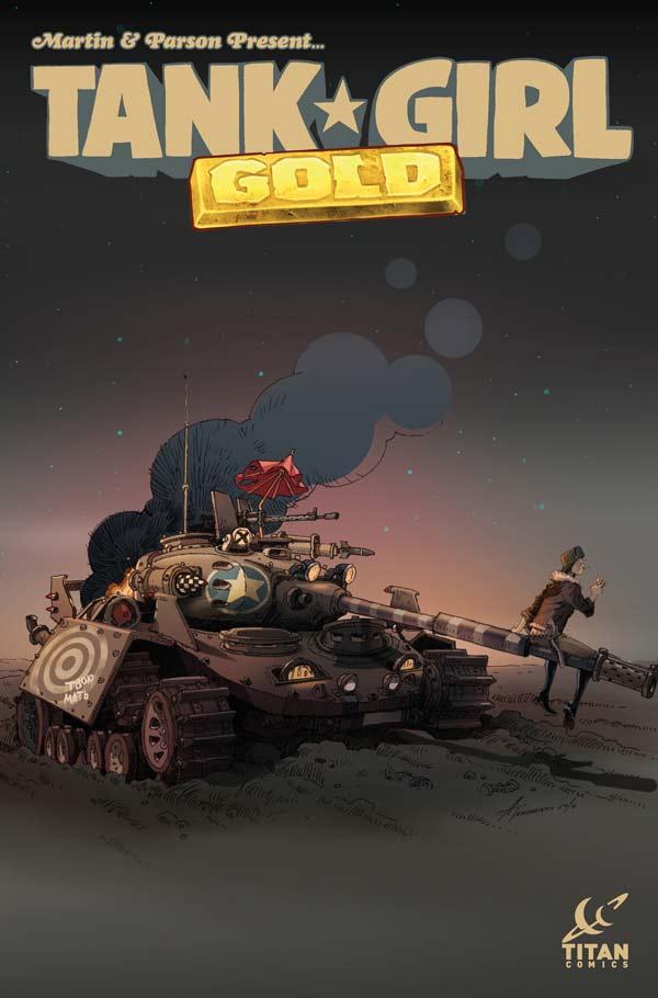 Tank Girl: Gold #1 - Cover C