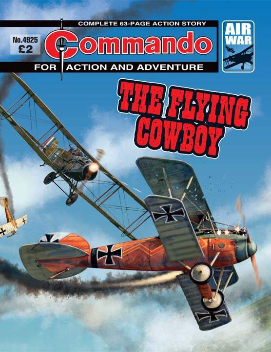 Commando 4925 - The Flying Cowboy