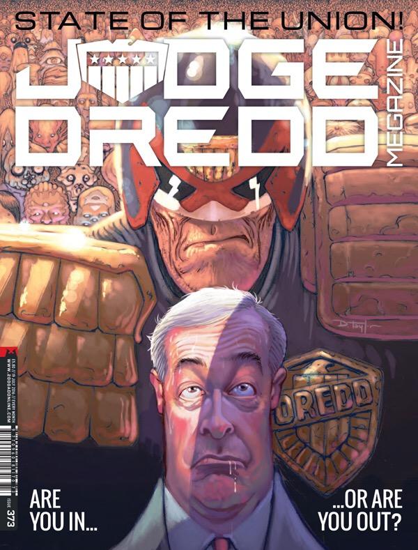 Judge Dredd Megazine 373