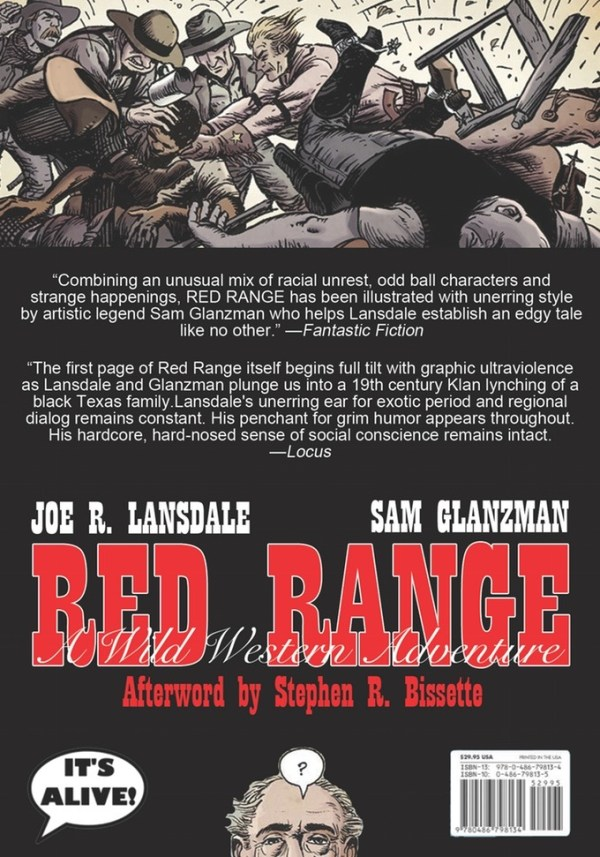 Red Range by Joe R. Lansdale and Sam Glanzman