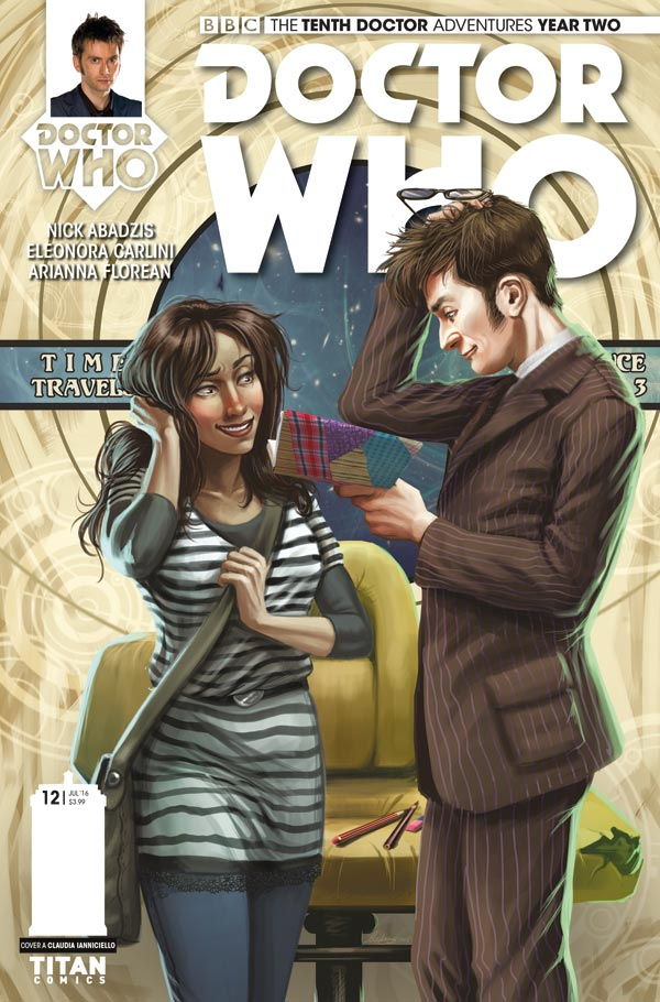 Doctor Who: The Tenth Doctor Year 2 #12 - Cover A