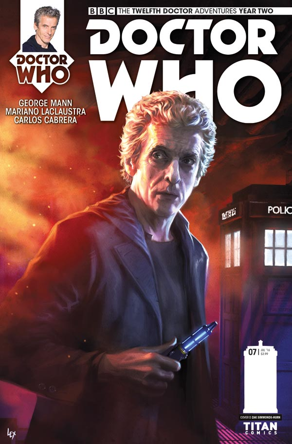Doctor Who: The Twelfth Doctor Year 2 #7 Cover_A