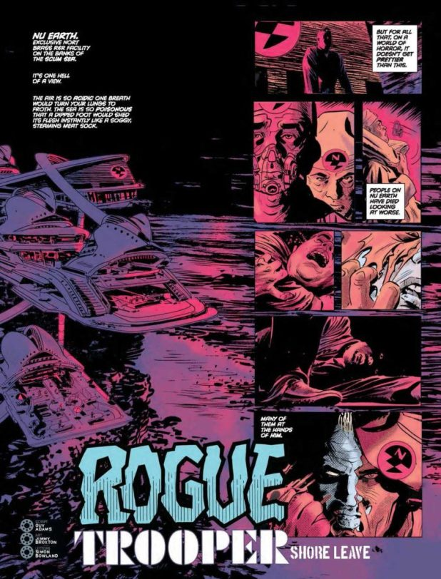"""""""Rogue Trooper: Shore Leave"""" by Guy Adams, Jimmy  Broxton, Simon Bowland"""