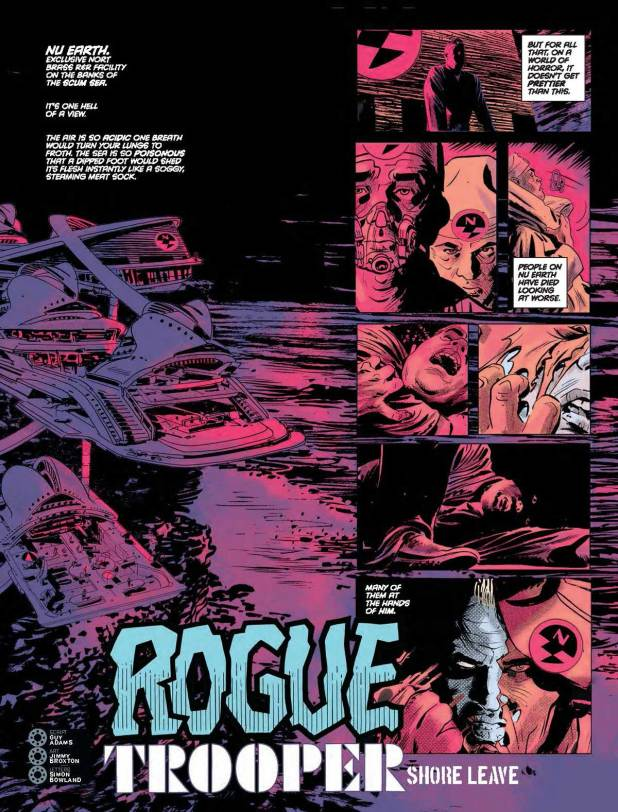 """Rogue Trooper: Shore Leave"" by Guy Adams, Jimmy  Broxton, Simon Bowland"