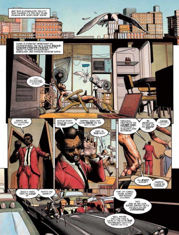 """""""Sinister Dexter: Shady as Funt"""" by Dan Abnett, Tom Foster, Ellie De Ville"""