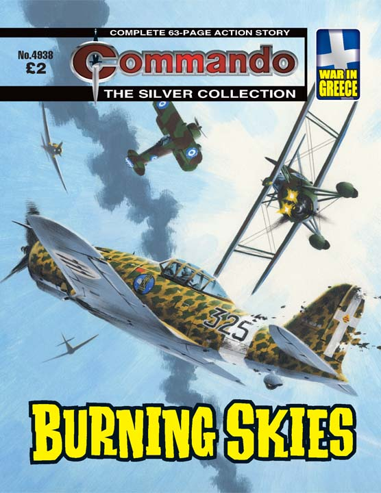 Commando No 4938 – Burning Skies