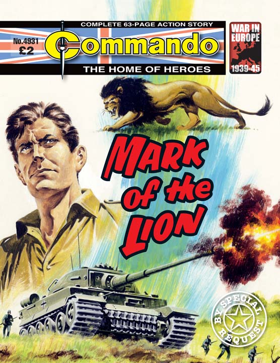 Commando No 4931 – Mark Of The Lion