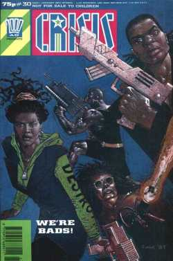 Crisis Issue 30 - Cover