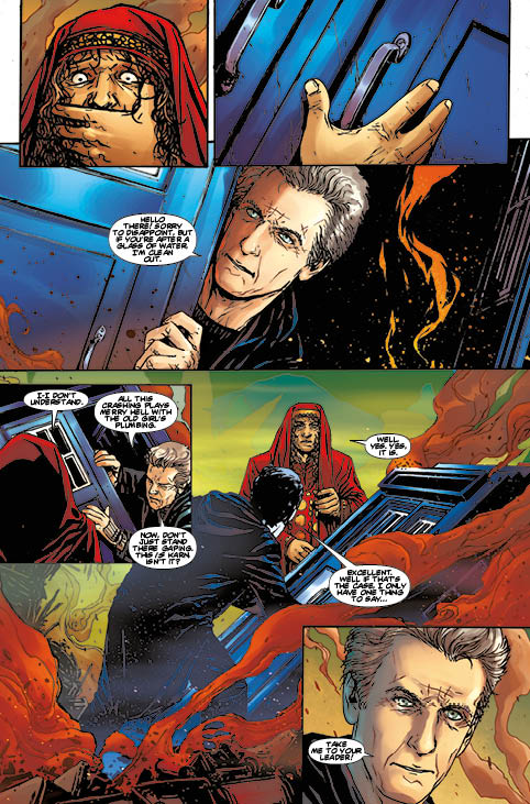 Doctor Who: Supremacy of the Cybermen #1 - Preview 3
