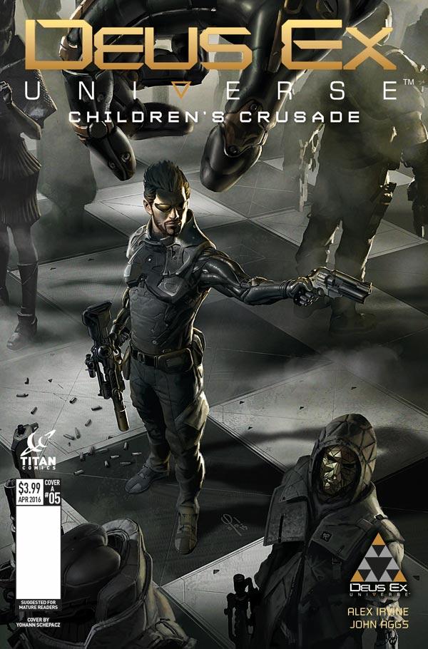 Deus Ex #5 Cover A