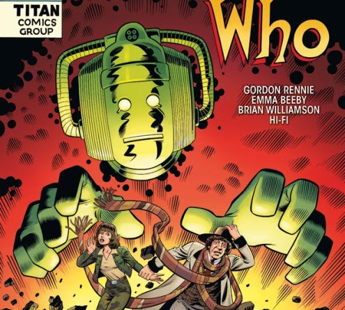 Doctor Who: Fourth Doctor #4 variant by Andrew Pepoy & Jason Millet