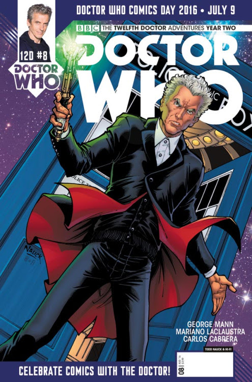 Doctor Who: Twelfth Doctor Year Two #7 variant by Todd Nauck & Hi-Fi