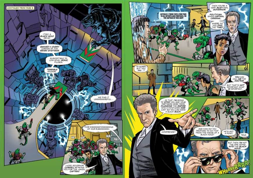 Doctor Who Adventures #17 - Strip Sample