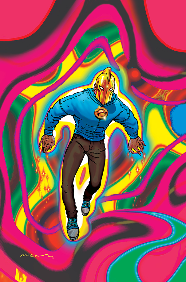 Dr Fate #17 - Cover